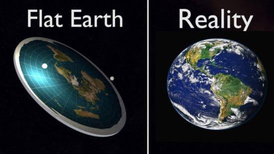 Flat Earth Vs Reality